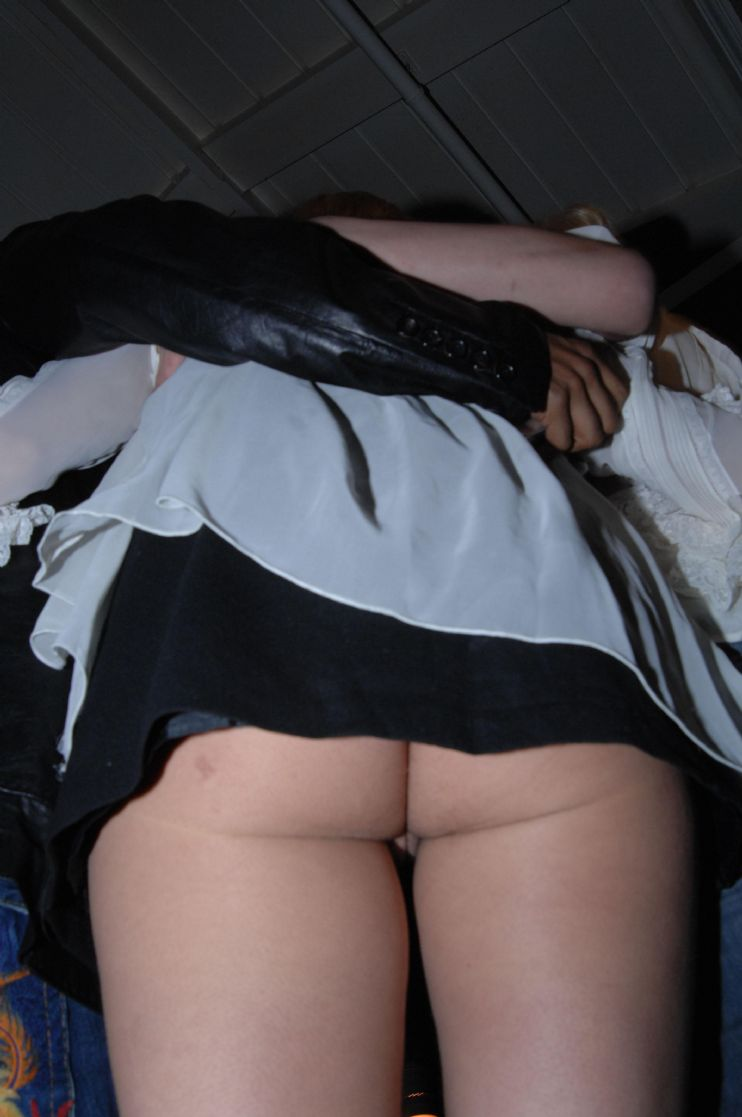 Britany photo spear upskirt