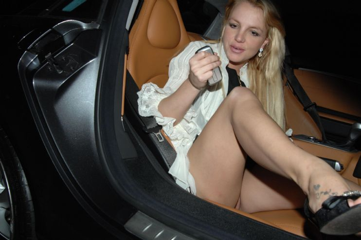 Britney spears upskirt unscensored